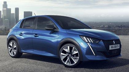 """La nueva generación del Peugeot 208 está inspirado en el 508 con un sector delantero que exhibe el número, el león de la marca y ópticas led con las """"garras"""""""