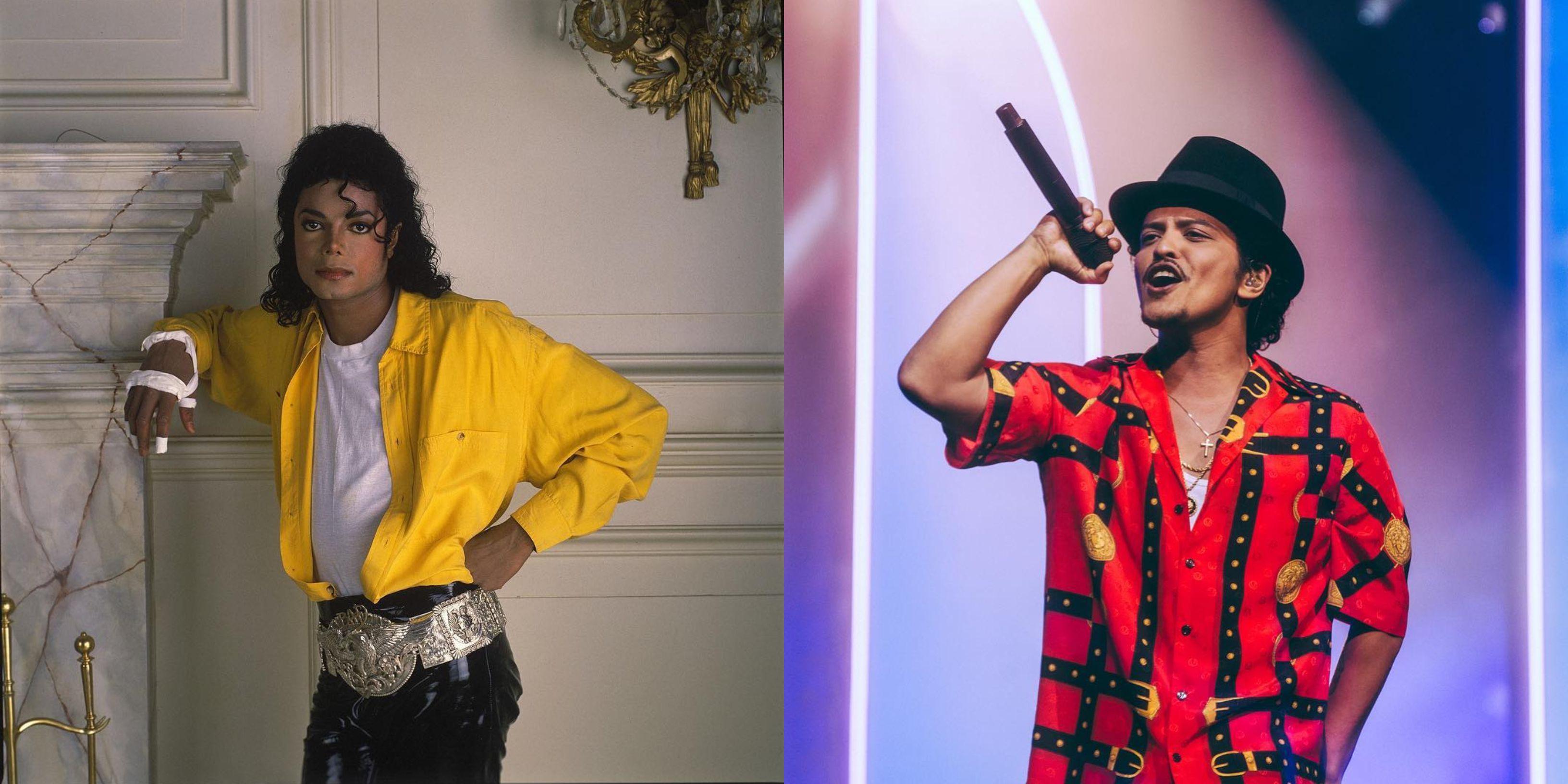 Bruno Mars y Michael Jackson (Foto: Instagram@michaeljackson/@brunomars)