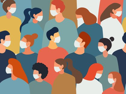 Los especialistas aseguran que, en principio, influiría la carga viral del caso índice, qué tan sintomática es esa persona (alguien con tos transmitiría más que alguien sin tos), y a su vez el tiempo y las características de la exposición (Shutterstock)