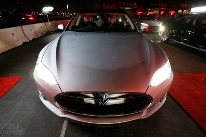 El auto Model S De Tesla ( REUTERS/Lucy Nicholson/File Photo)