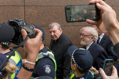 George Pell. Foto: REUTERS/Mark Dadswell/File Photo