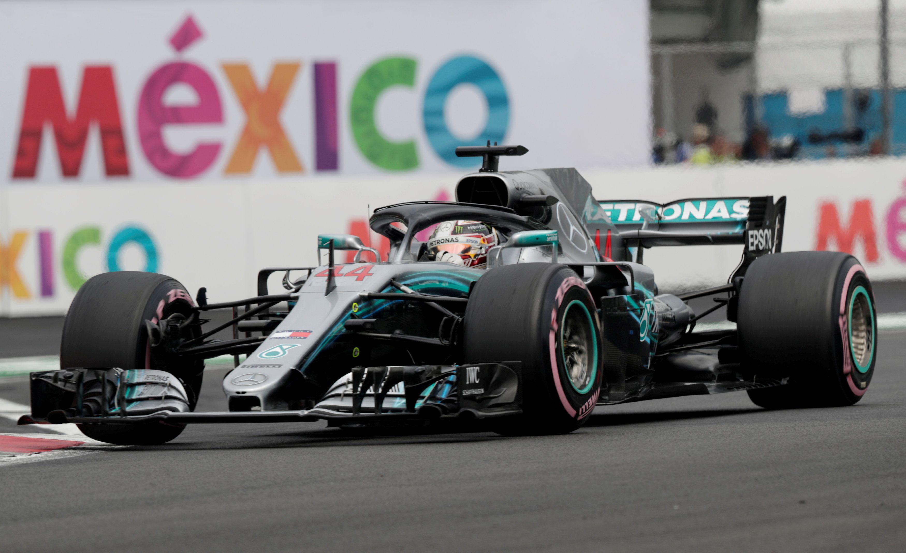 Hamilton intentará ganar en el Autódromo Hermanos Rodríguez el próximo domingo (Foto: Henry Romero/ Reuters)