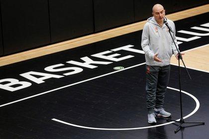 El t�cnico del Valencia Basket, Jaume Ponsarnau. EFE/Miguel �ngel Polo