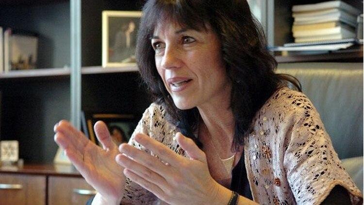 Vilma Ibarra, secretaria de Legal y Técnica, y persona de mucha confianza del Presidente