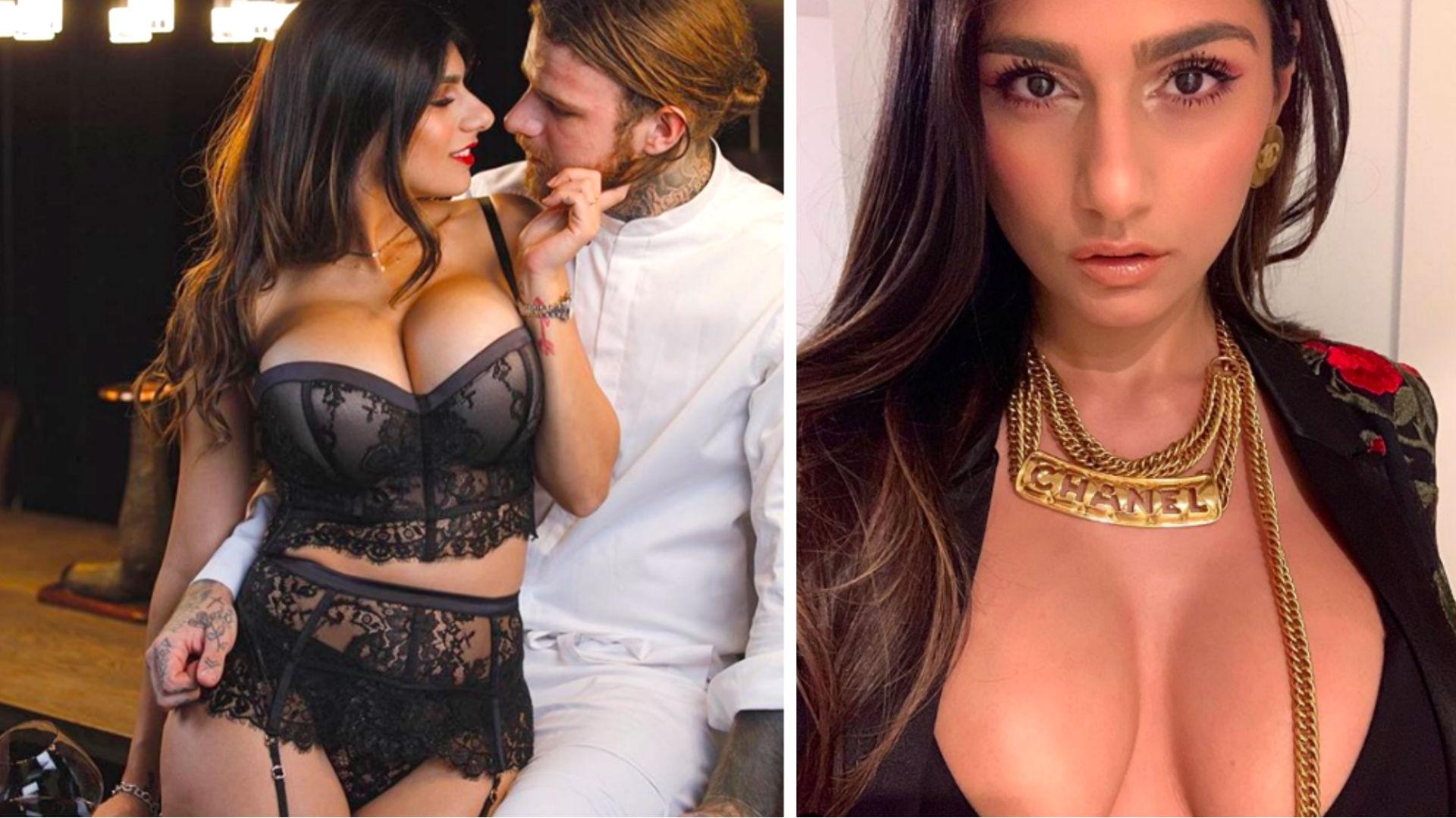 Actriz De Porno Que Se Parezca A Cristina Pardo la ex actriz porno mia khalifa presume su celulitis y así