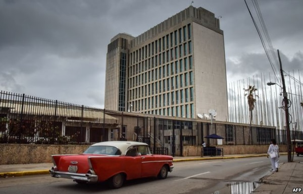 La embajada de Estados Unidos en La Habana (Foto: Martí Noticias)