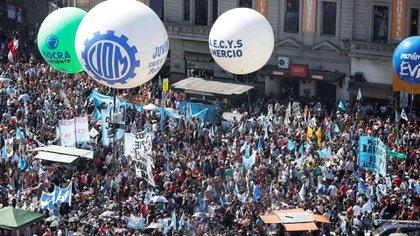 La CGT se movilizará nuevamente el próximo 7 de marzo (foto de archivo Reuters)