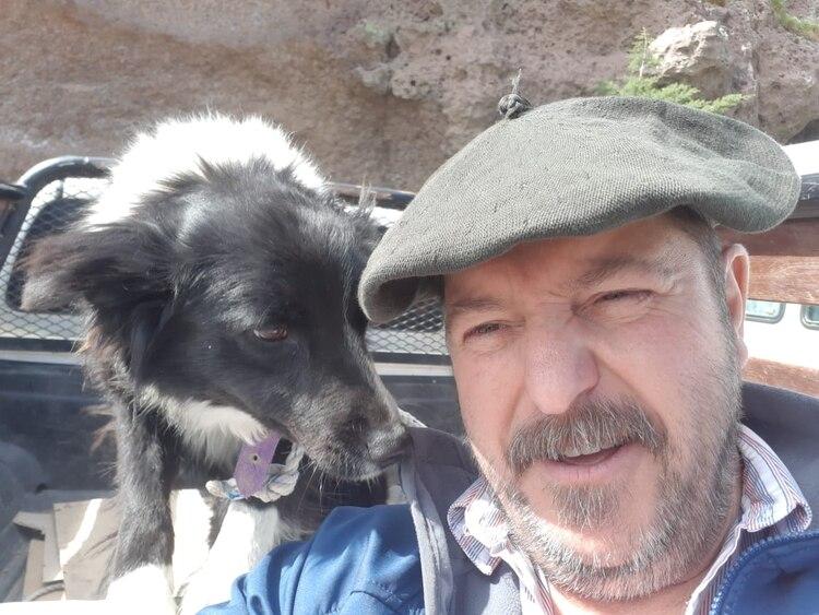 Juan Carlos Ramírez, productor ovino. Se mudó de campo, cansado de la inseguridad
