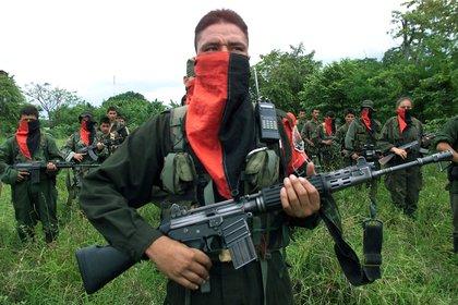 Guerrilleros del Ejército de Liberación Nacional (ELN) (Europa Press)