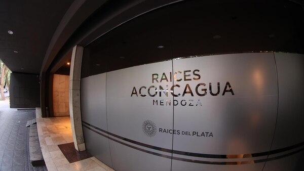 La fachada del Hotel Aconcagua (Marcelo Ruiz)
