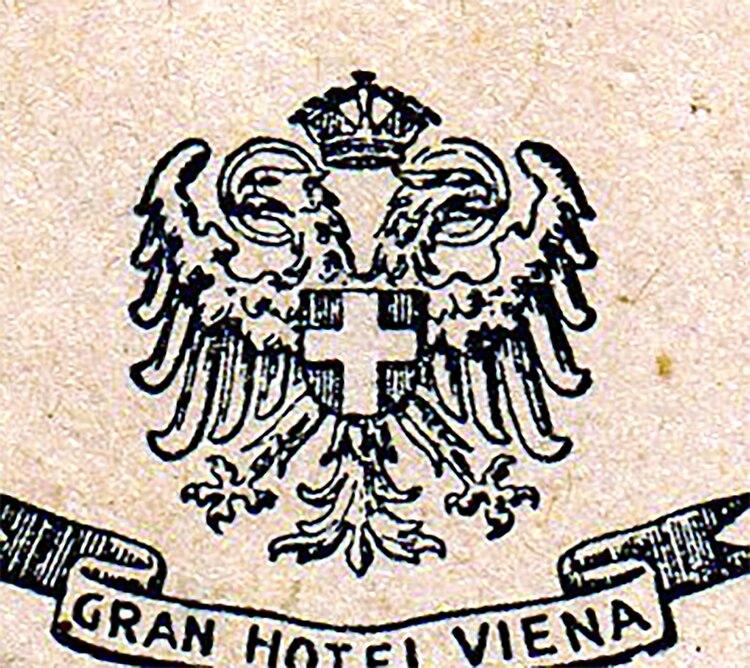 El águila del Gran Hotel Viena