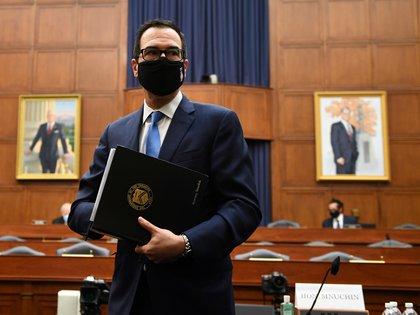 Steven Mnuchin, secretario del Tesoro (Kevin Dietsch/Pool via REUTERS)