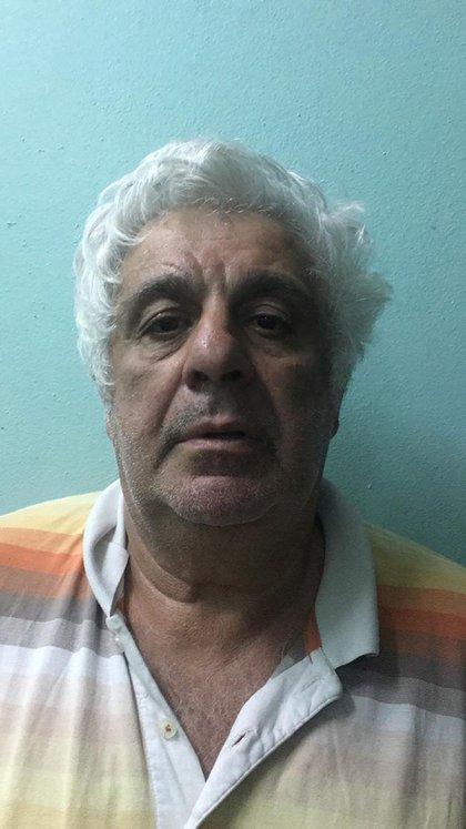 La primera foto de Samid detenido en Belice
