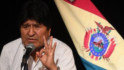 Evo Morales se encuentra refugiado en Argentina (Maximiliano Luna)