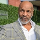 Mandatory Credit: Photo by Aurora Rose/Shutterstock (10372628bd) Mike Tyson US Open Tennis Championships, Day 1, USTA National Tennis Center, Flushing Meadows, New York, USA - 26 Aug 2019