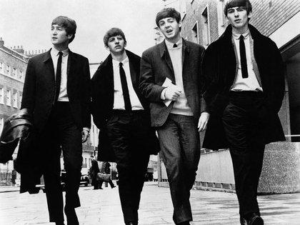 Los Fab Four: John Lennon, Ringo Starr, Paul McCartney y George Harrison. Los chicos de Liverpool se reunieron con Bob Dylan en el lujoso hotel Delmonico de Manhattan (Shutterstock)
