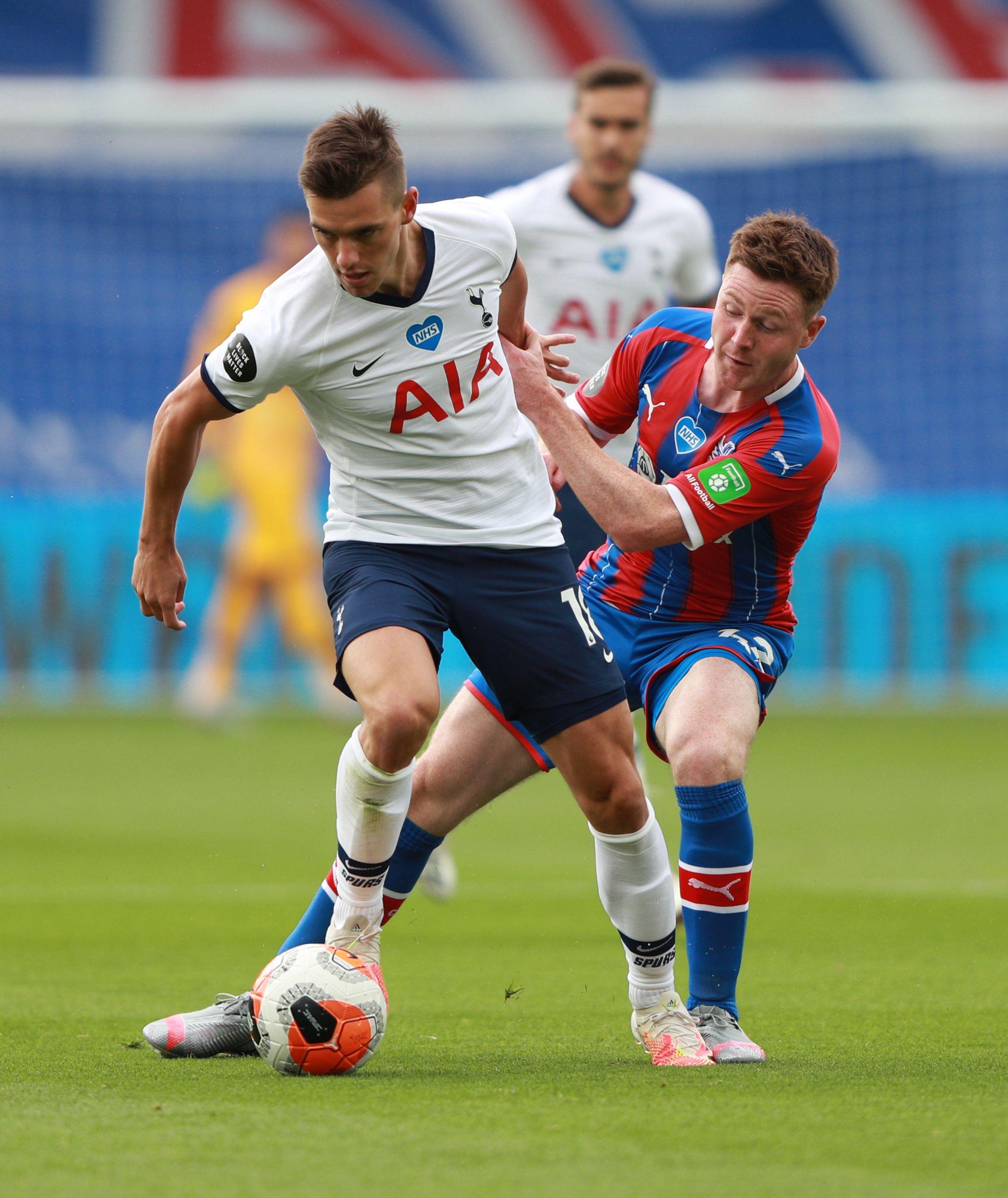 Giovanni Lo Celso juega actualmente en el Tottenham Hotspur de la Premier League inglesa (REUTERS/Ian Walton)