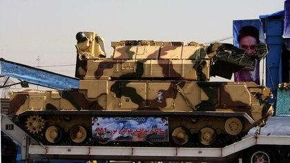El sistema de misiles Tor-M1, con el que fue derribado el avión (Reuters)