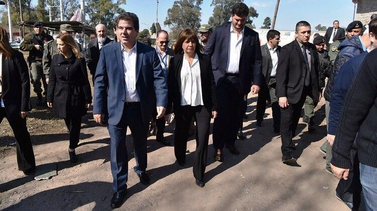 Ritondo y Bullrich harán campaña juntos en el conurbano bonaerense unificando el plan de seguridad