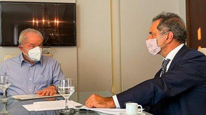 Daniel Scioli se reunió con Lula da Silva