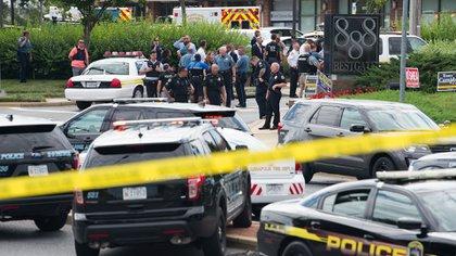 Un tiroteo en el diario Capital Gazette de Annapolis dejó al menos 5 muertos