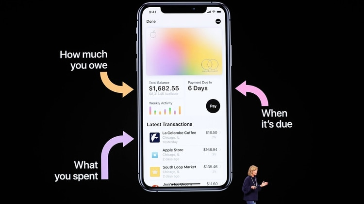 La tarjeta de crédito de Apple está diseñada especialmente para iPhone. (AFP)