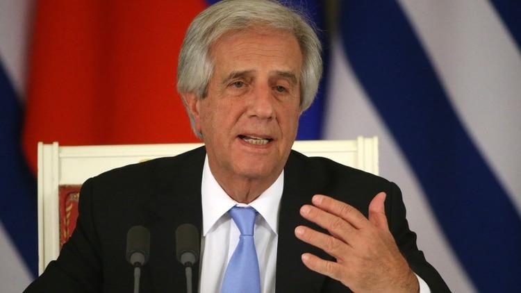Tabaré Vázquez, presidente de Uruguay (Getty)