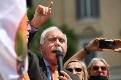 Pappalardo este martes en Roma (Vincenzo PINTO / AFP)