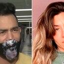 El Tucu López y Jimena Barón