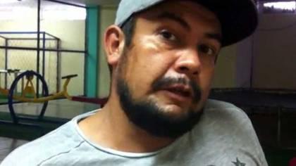 """Nicolás Sierra Santana, """"El Gordo"""", quien está al frente de """"Los Viagra""""."""