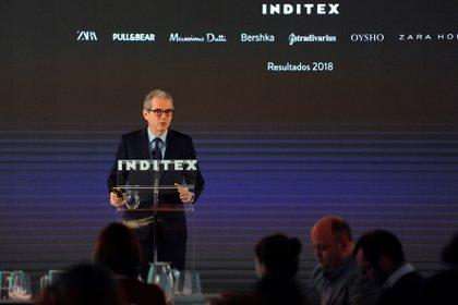 El presidente ejecutivo de Inditex, Pablo Isla. EFE/Moncho Fuentes/Archivo
