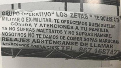 Los Zetas estaban reclutando a militares en Tamaulipas y ofrecían buena alimentación (Foto: La Guerra de los Zetas, Diego Enrique Oosorno, Penguin Random House, 2012)