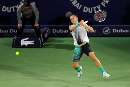 Philipp Kohlschreiber no quiere retirarse porque lo obligará la crisis en el tenis por el coronavirus (REUTERS/Thaier Al-Sudan)