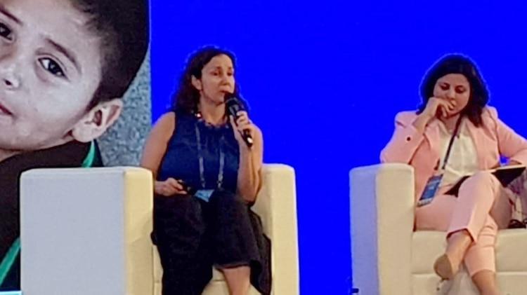 Florencia Ripani, directora nacional de Innovación Educativa, está en Pekín para presentar el caso