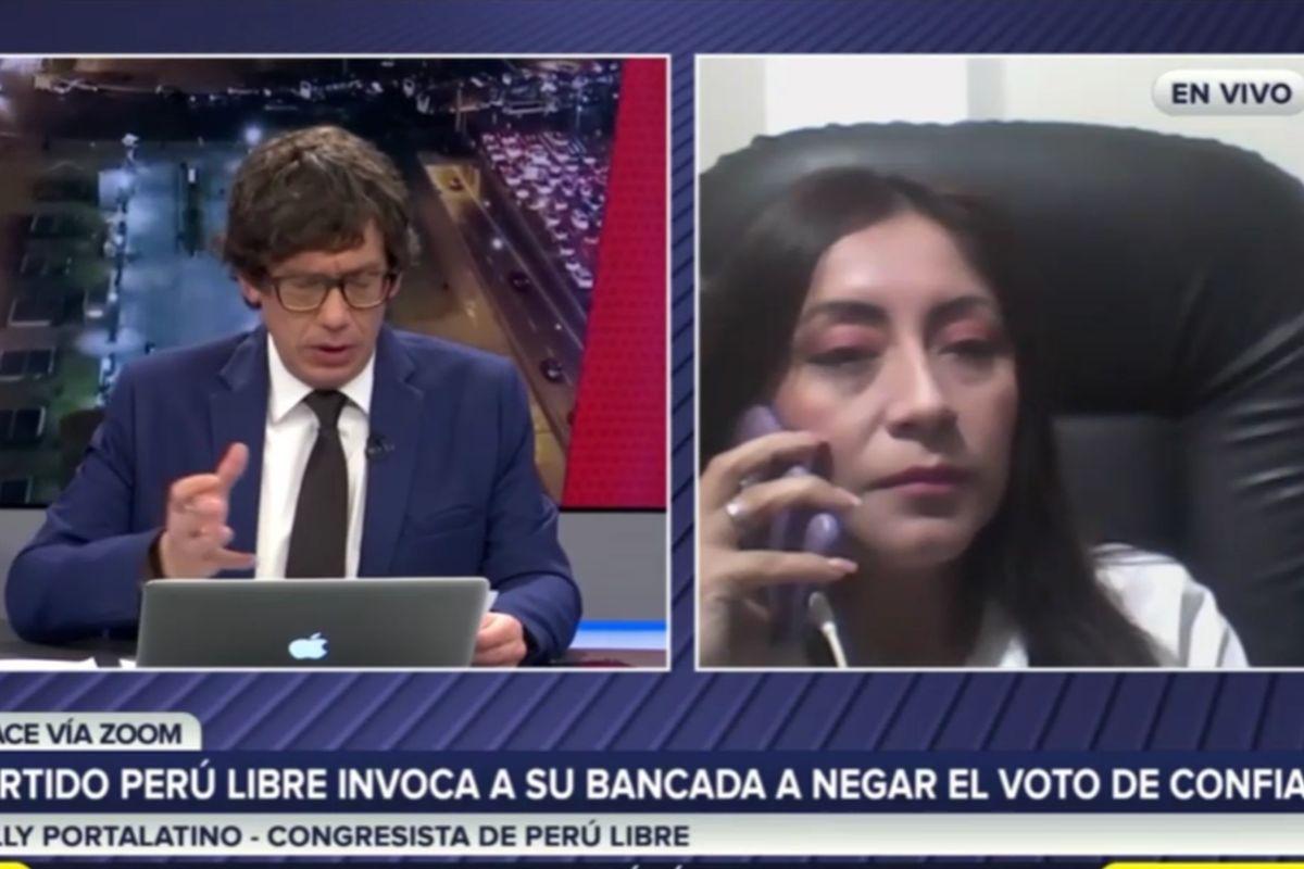 Kelly Portalatino de Perú Libre