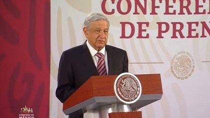 """El mandatario mexicano reiteró que el país """"saldrá adelante"""" de la crisis provocada por el COVID-19 (Foto: Cortesía)"""