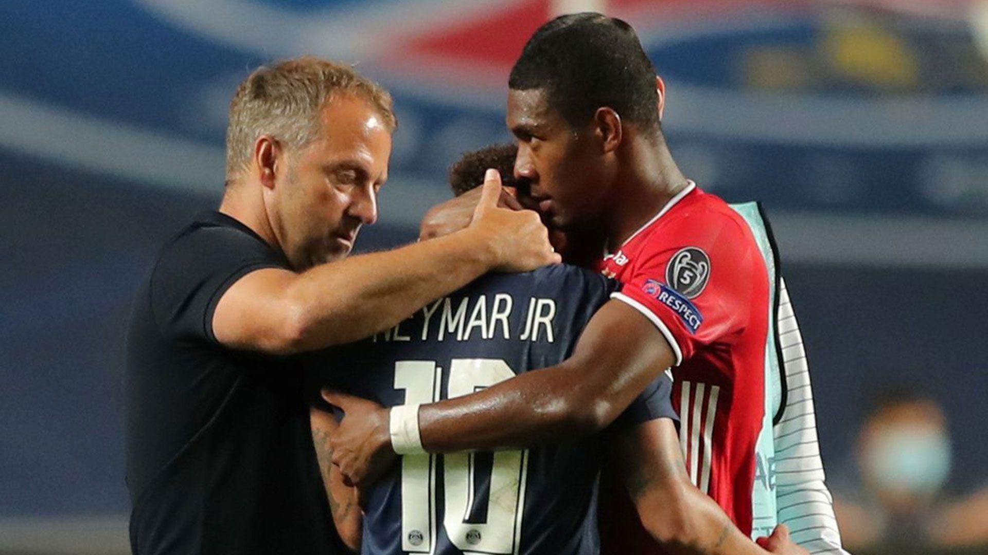 El llanto de Neymar al terminar el partido