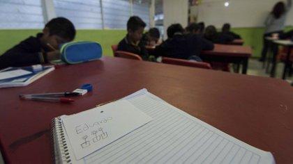 Los alumnos de nivel medio superior vuelven a las aulas el próximo 3 de agosto. (Foto: Cuartoscuro)