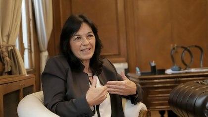 Entrevista a Vilma Ibarra en la Casa Rosada