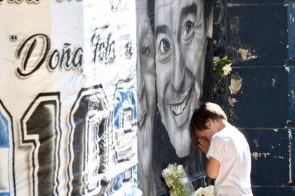 El homenaje de un pequeño hincha en La Plata (aglaplata)