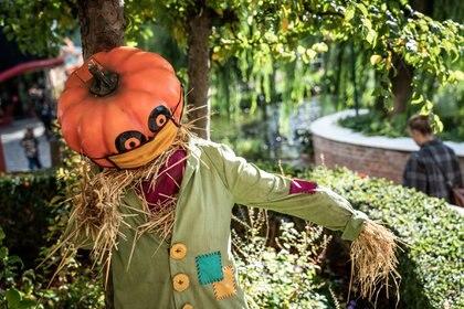 Halloween en medio de una pandemia Scanpix/Emil Helms via REUTERS