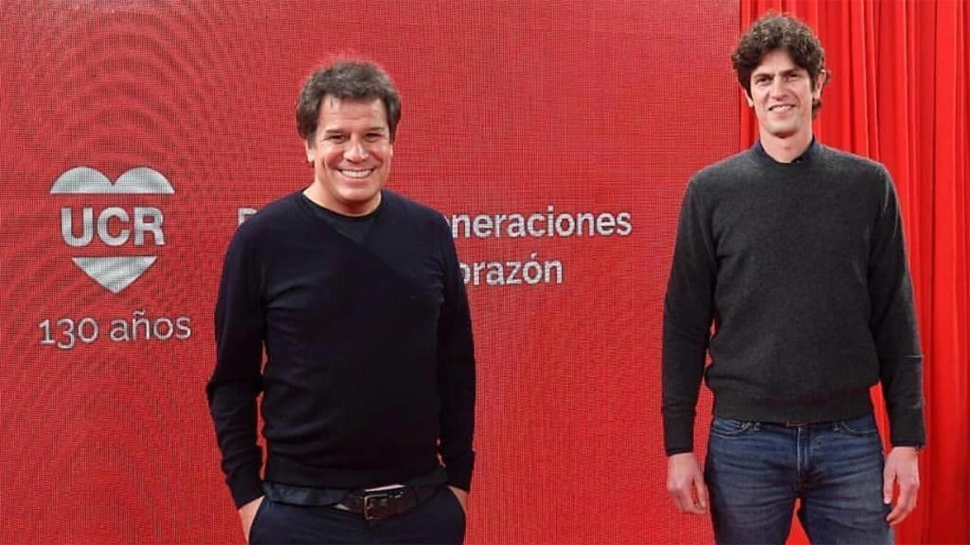 Facundo Manes y Martín Lousteau