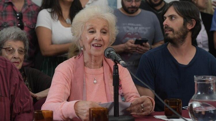 Estela de Carlotto anunció con mucha alegría la aparición de la nieta 129