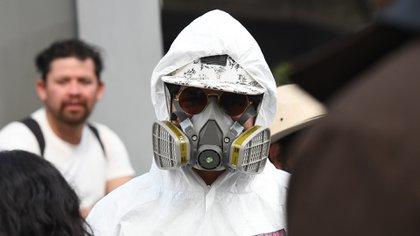 El avance del coronavirus en América Latina sigue adelante sin pausa (Foto: Jorge Núñez/ EFE)