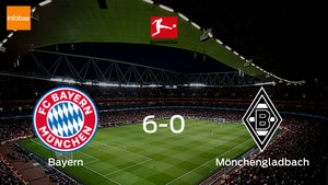 Bayern blaze past Mönchengladbach, scoring 6 at the Allianz Arena without reply