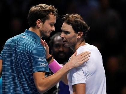 Nadal se mostró en un gran nivel, pero necesita seguir a este ritmo para acabar el año en la cima del ranking ATP (Reuters)