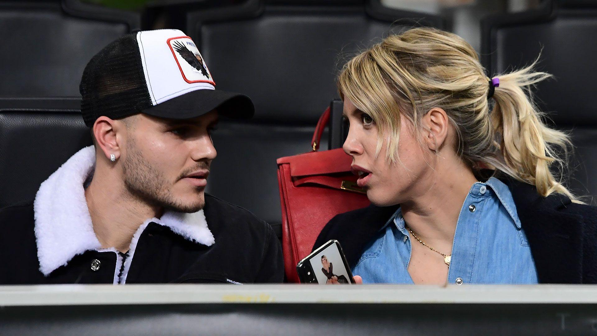 Wanda Nara es la esposa y agente de Mauro Icardi (AFP)