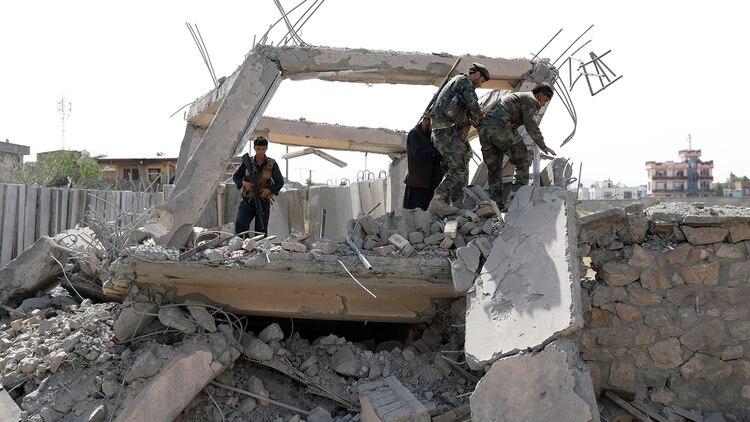Ataque en Afganistán. (Reuters)