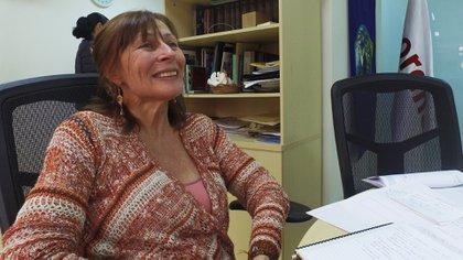 "Franca y directa para hablar, Tatiana Clouthier reeconoce en López Obrador a un presidente ""diferente"". (Foto: Juan Vicente Manrique, Infobae México)"