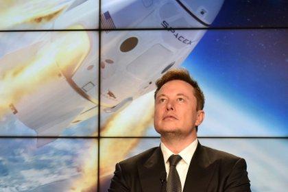 Elon Musk está al frente de la innovadora empresa espacial SpaceX -  REUTERS/Steve Nesius/File Photo